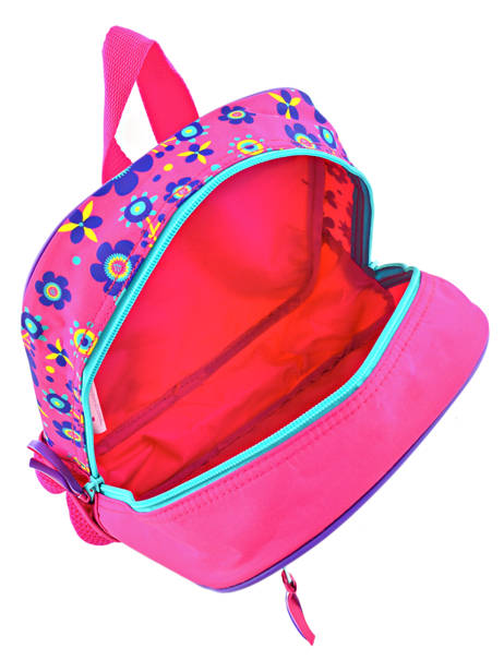 Backpack Mini Trolls Multicolor flower 48321 other view 4