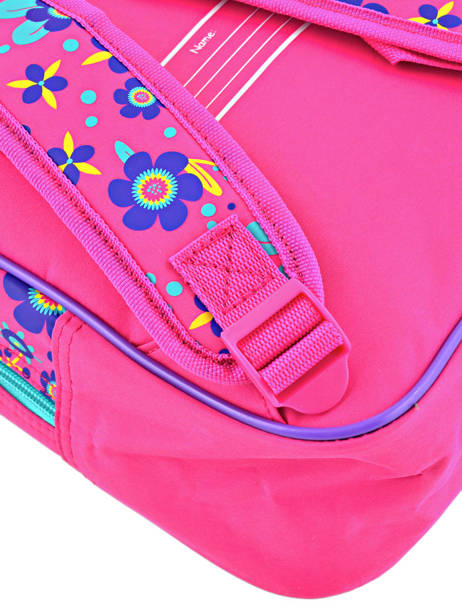 Backpack Mini Trolls Multicolor flower 48321 other view 1