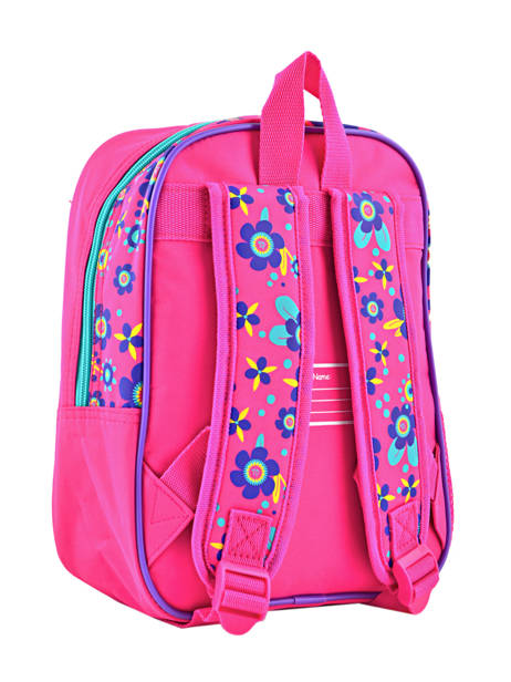 Backpack Mini Trolls Multicolor flower 48321 other view 3