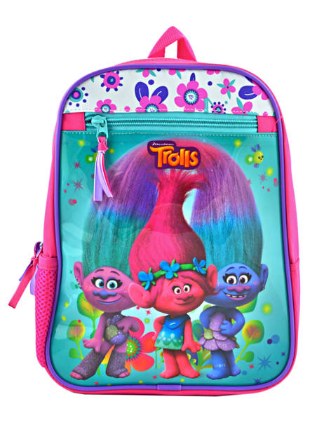 Backpack Mini Trolls Multicolor flower 48321