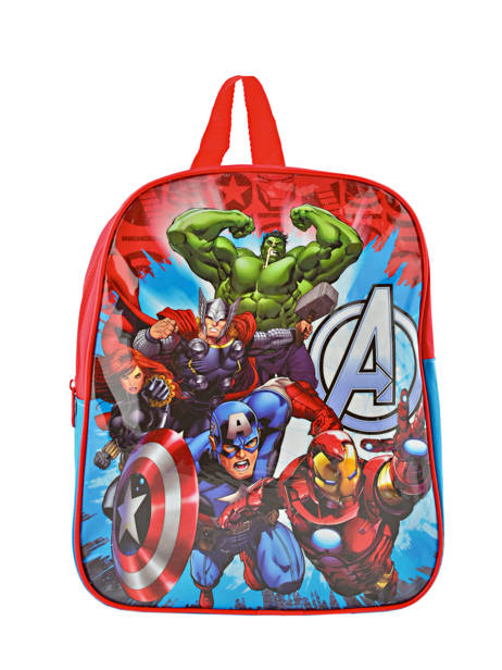 Backpack Mini Avengers Red basic AST0746