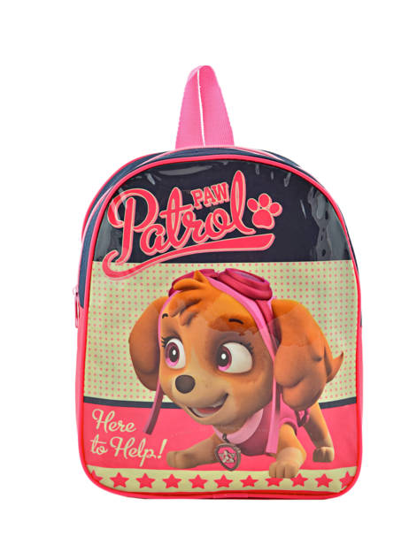 Backpack Mini Paw patrol Pink basic AST4090