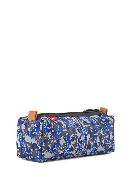Trousse 1 Compartiment Poids plume Bleu be all over color PCO15237 vue secondaire 2