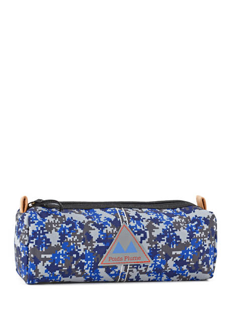 Trousse 1 Compartiment Poids plume Bleu be all over color PCO15237