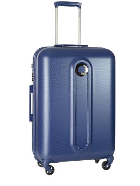 Valise Rigide Helium Classic 2 Delsey Bleu helium classic 2 3801810