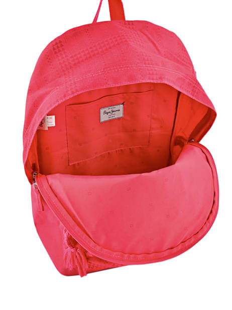 Backpack 1 Compartment Pepe jeans Multicolor samantha 66123 other view 5
