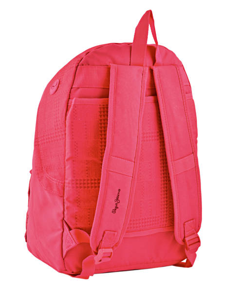 Backpack 1 Compartment Pepe jeans Multicolor samantha 66123 other view 4