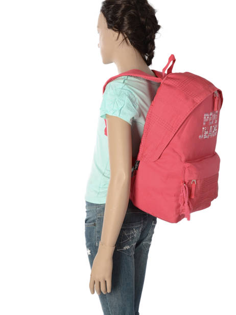 Backpack 1 Compartment Pepe jeans Multicolor samantha 66123 other view 3