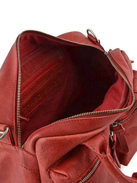 Sac The Little Bag Romance Cuir Cowboysbag Rouge sturdy romance 1346 vue secondaire 4