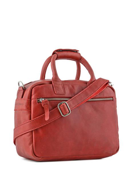 Sac The Little Bag Romance Cuir Cowboysbag Rouge sturdy romance 1346 vue secondaire 3