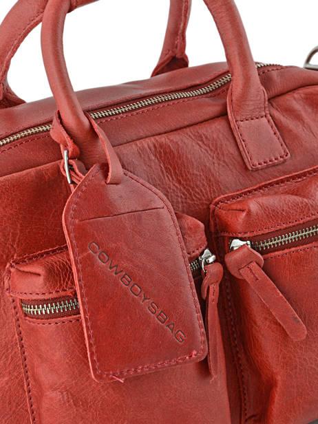 Sac The Little Bag Romance Cuir Cowboysbag Rouge sturdy romance 1346 vue secondaire 1