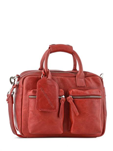 Sac The Little Bag Romance Cuir Cowboysbag Rouge sturdy romance 1346