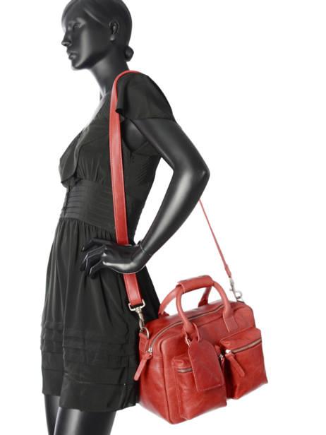 Sac The Little Bag Romance Cuir Cowboysbag Rouge sturdy romance 1346 vue secondaire 2