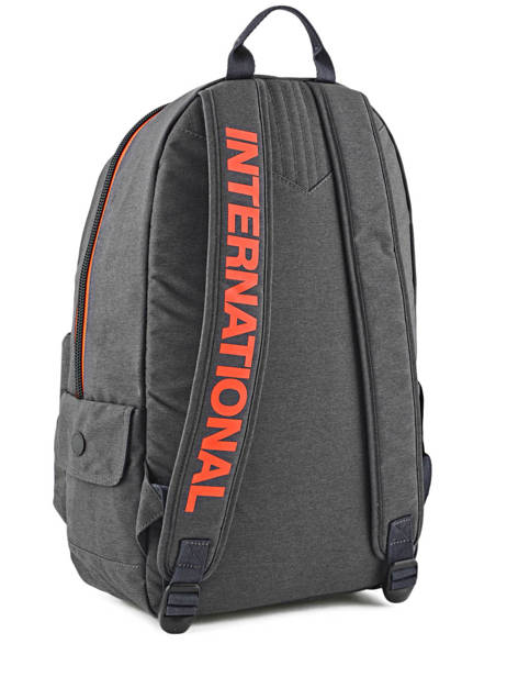 Sac à Dos 1 Compartiment Superdry Gris backpack men M91001DP vue secondaire 3