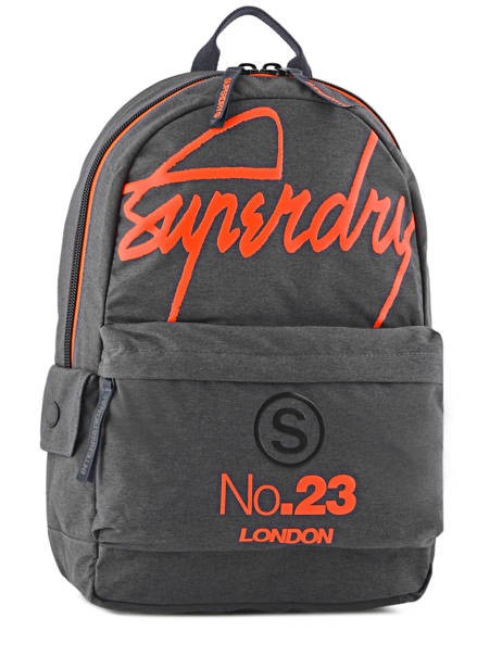 Sac à Dos 1 Compartiment Superdry Gris backpack men M91001DP