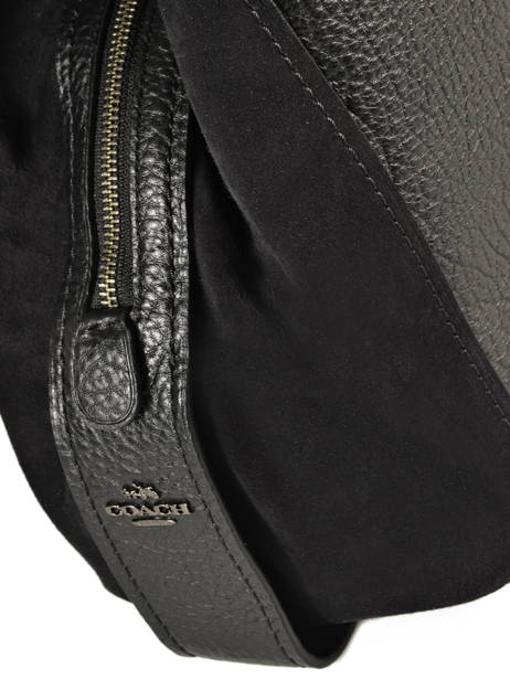 Shopper Edie Leather Coach Black edie 57647 other view 1