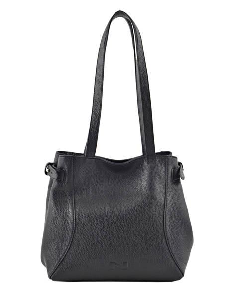 Shopper Maela Leather Nathan baume Black cruise N1721035