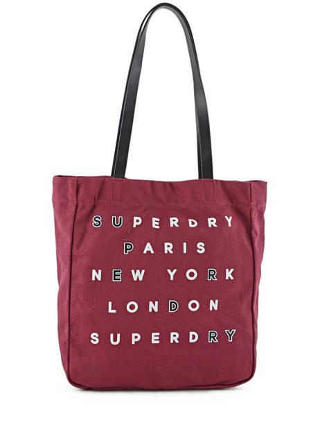 Sac Cabas A4 Women Bags Superdry Violet women bags G91001OP