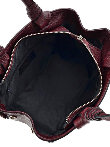 Mini-sac Caviar Cuir Milano Violet caviar G151107 vue secondaire 3