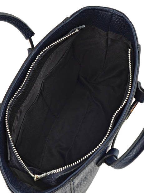 Shopping Bag  Leather Milano Blue CA17061 other view 3
