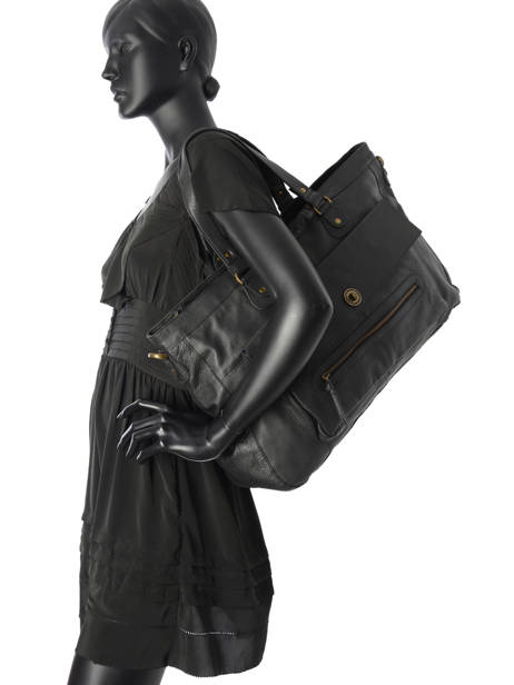 Shopper Totally Royal Leather Totally Royal Pieces Black totally royal 17055349 other view 4