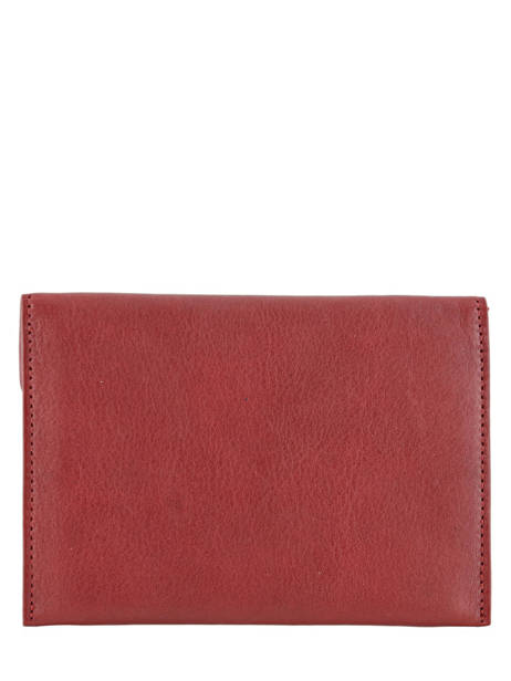 Wallet Leather Etrier Red blanco 600054 other view 2