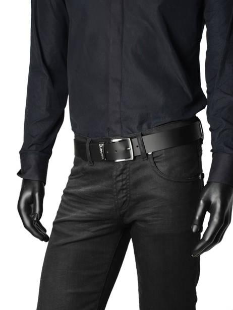 Ceinture Levi's Noir accessoires 227080 vue secondaire 2