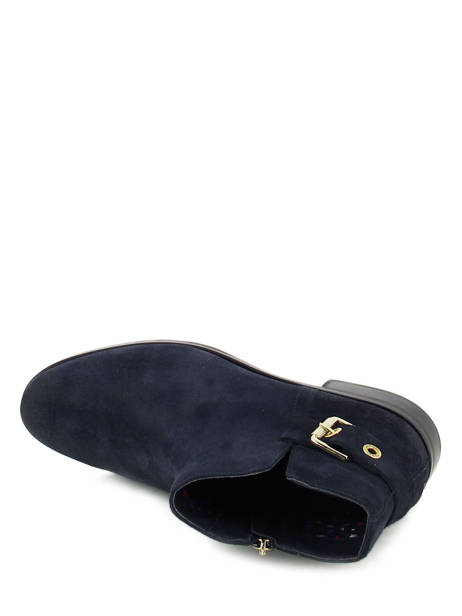 boots bottines tommy hilfiger midnight en vente au meilleur prix. Black Bedroom Furniture Sets. Home Design Ideas