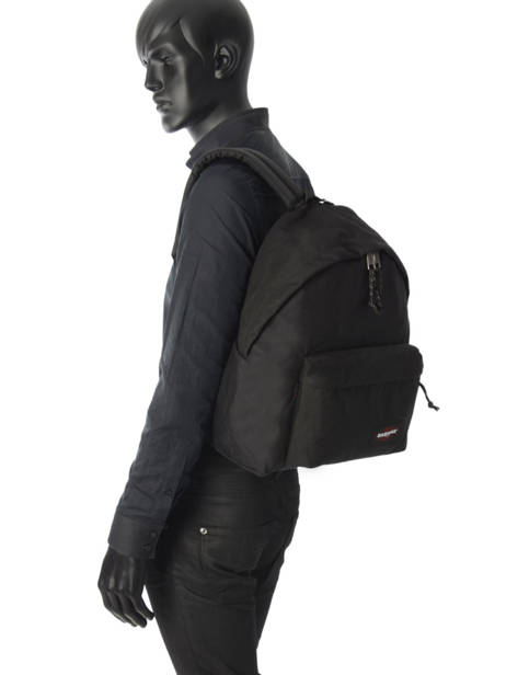 Backpack 1 Compartment A4 Eastpak Black EK620 other view 2