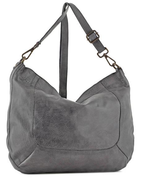 Shoulder Bag Studs Leather Basilic pepper Gray studs BSTU02 other view 2