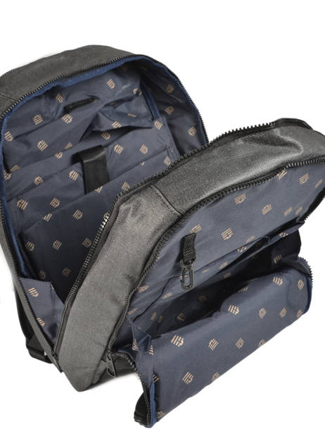 Backpack 2 Compartments + 15'' Pc Serge blanco Black new urban NRB41024 other view 4