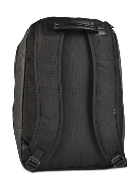 Backpack 2 Compartments + 15'' Pc Serge blanco Black new urban NRB41024 other view 3