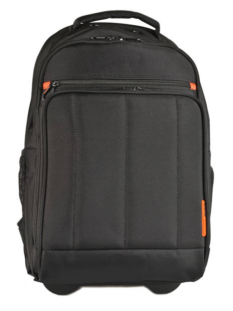Wheeled Backpack 2 Compartments + 17'' Pc Davidt's Black chase 257047