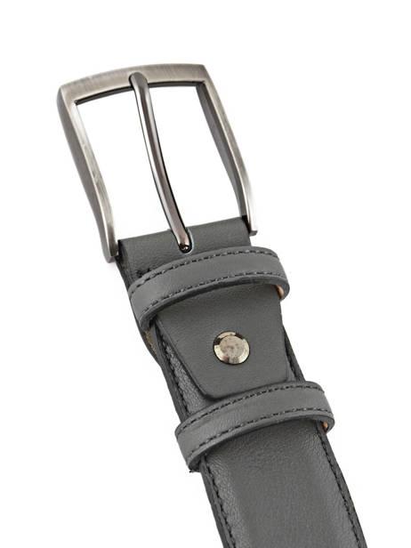 Belt Adjustable Petit prix cuir Gray classic 937 other view 1