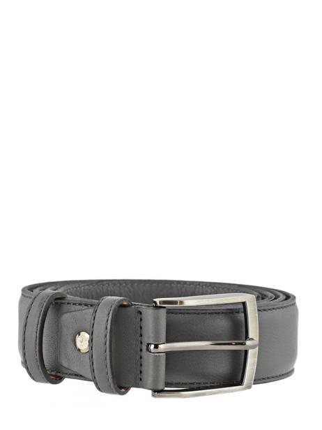 Belt Adjustable Petit prix cuir Gray classic 937