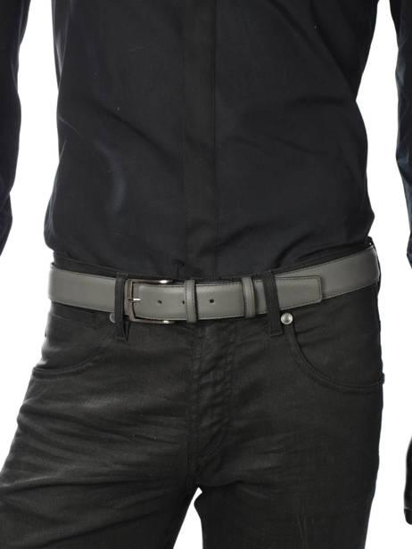 Belt Adjustable Petit prix cuir Gray classic 937 other view 2