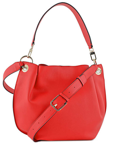 Sac Porté épaule Digital Guess Rouge digital VG685303 vue secondaire 3