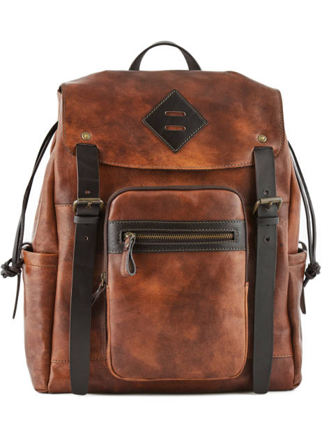 Backpack Chiarugi Brown street 54010