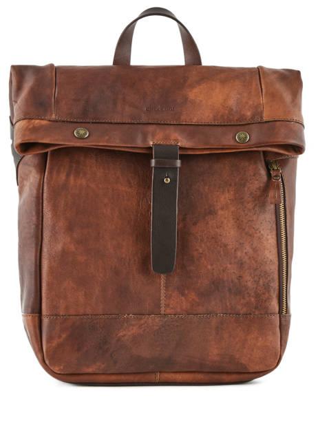 Backpack Chiarugi Brown street 54009
