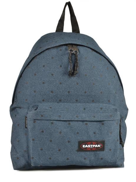 Sac à Dos 1 Compartiment A4 Eastpak Bleu pbg authentic PBGK620