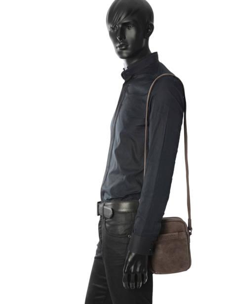 Pochette Homme Arthur et aston Noir pierre 1438-24 vue secondaire 2