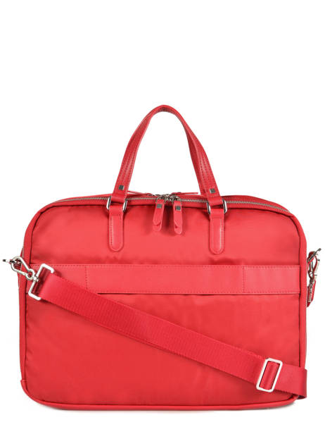 Briefcase 2 Compartments + 15'' Pc Samsonite Red karissa 60N005 other view 3