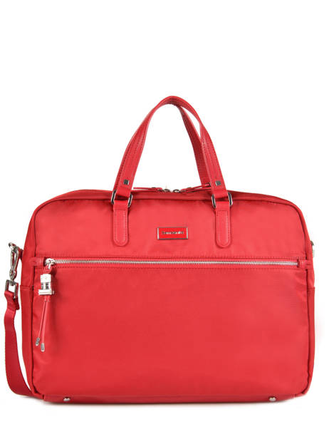 Briefcase 2 Compartments + 15'' Pc Samsonite Red karissa 60N005