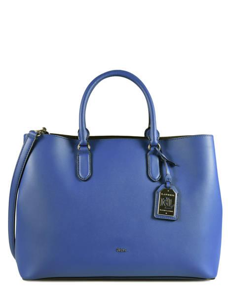 Shopping Bag Dryden Leather Lauren ralph lauren Blue dryden 31644256