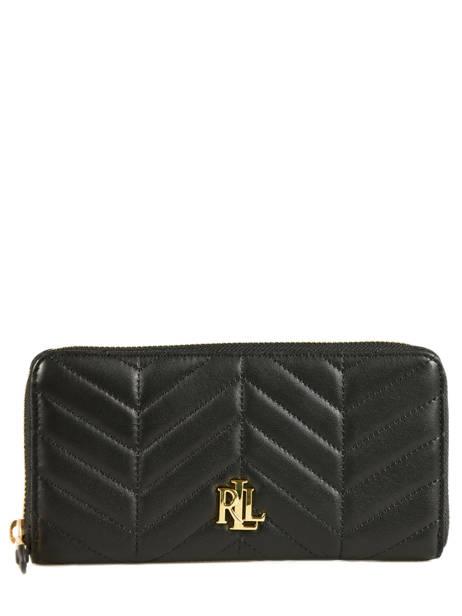Carrington Wallet Leather Lauren ralph lauren Black carrington 32678844