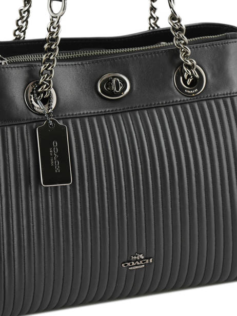 Shopper Edie Leather Coach Black edie 22751 other view 1