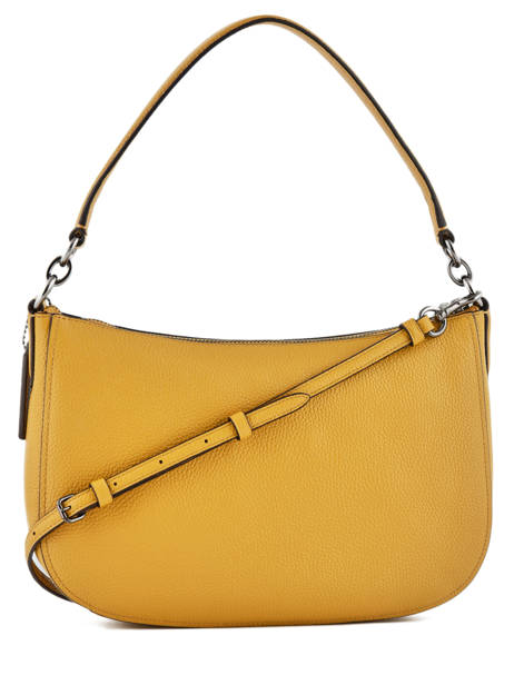 Crossbody Bag Coach Yellow chelsea 56819 other view 3