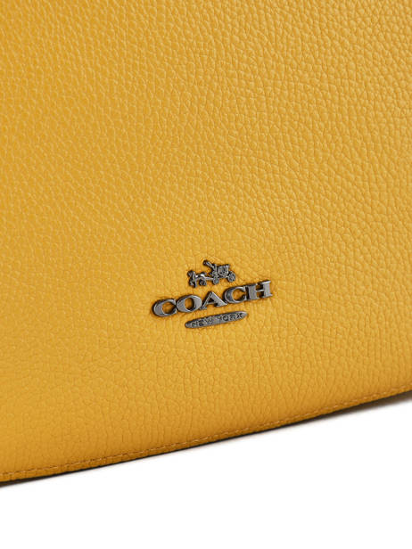 Crossbody Bag Coach Yellow chelsea 56819 other view 1