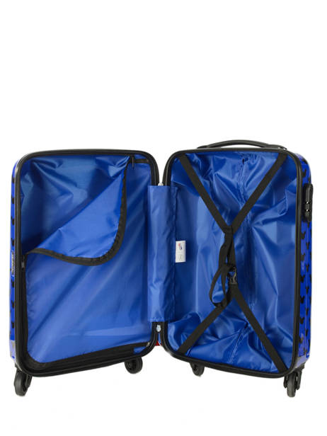 Cabin Luggage American tourister Blue hypertwist 30C901 other view 3