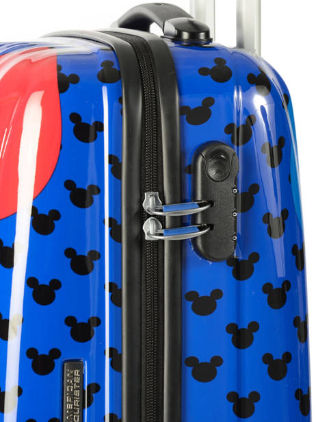Cabin Luggage American tourister Blue hypertwist 30C901 other view 1
